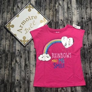 Kids Rainbow Graphic Tee